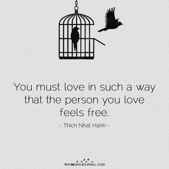 You Must Love In Such A Way