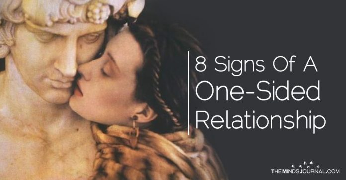 8 Signs That Say You're In A One-Sided Relationship