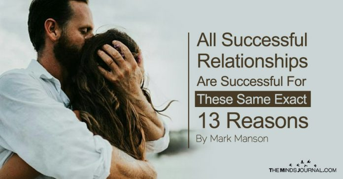 All Successful Relationships Are Successful For These Same Exact 13 Habits