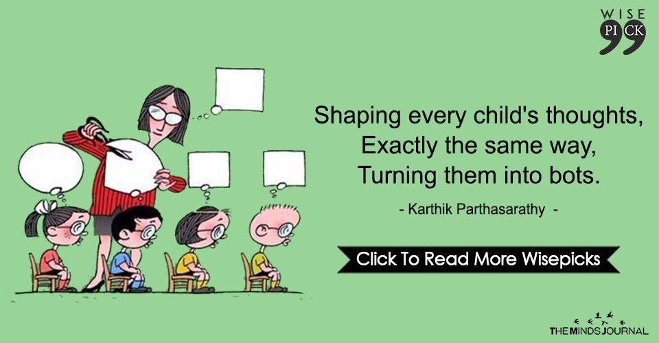 Shaping Every Child's Thoughts, Exactly The Same Way