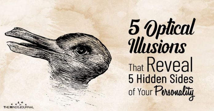5 Optical Illusions Reveal Personality