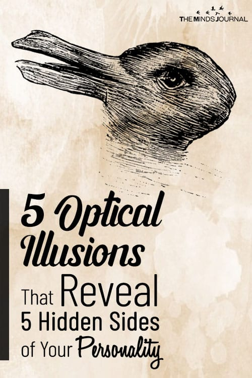 5 Optical Illusions Reveal Personality pin