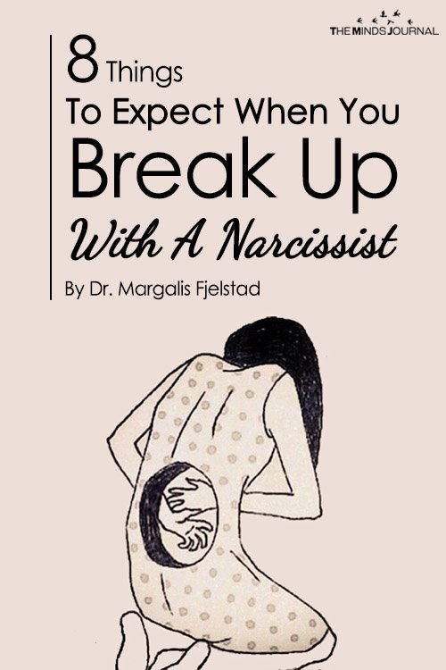 what happens when a narcissist breaks up with you
