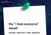"The "" I Hate Everyone"" Squad"