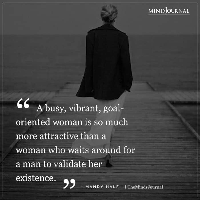 Busy Vibrant Goal Oriented Woman Attractive