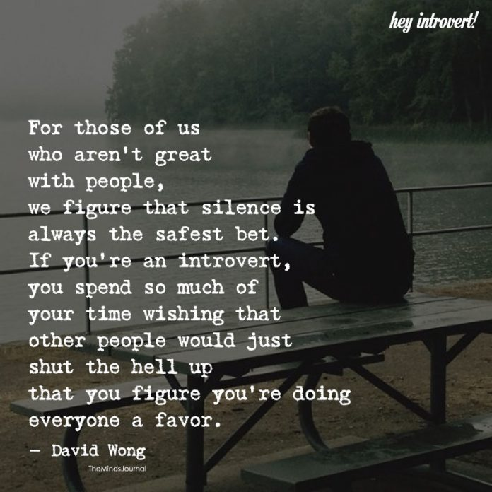 For Those Of Us Who Aren't Great With People
