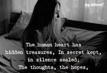 The Human Heart Has Hidden Treasures