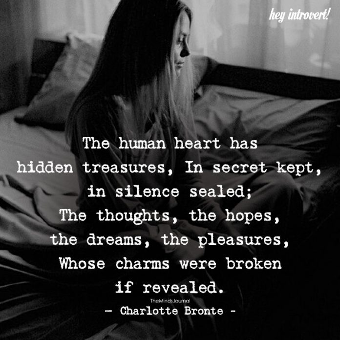 The Human Heart Has Hidden Treasures