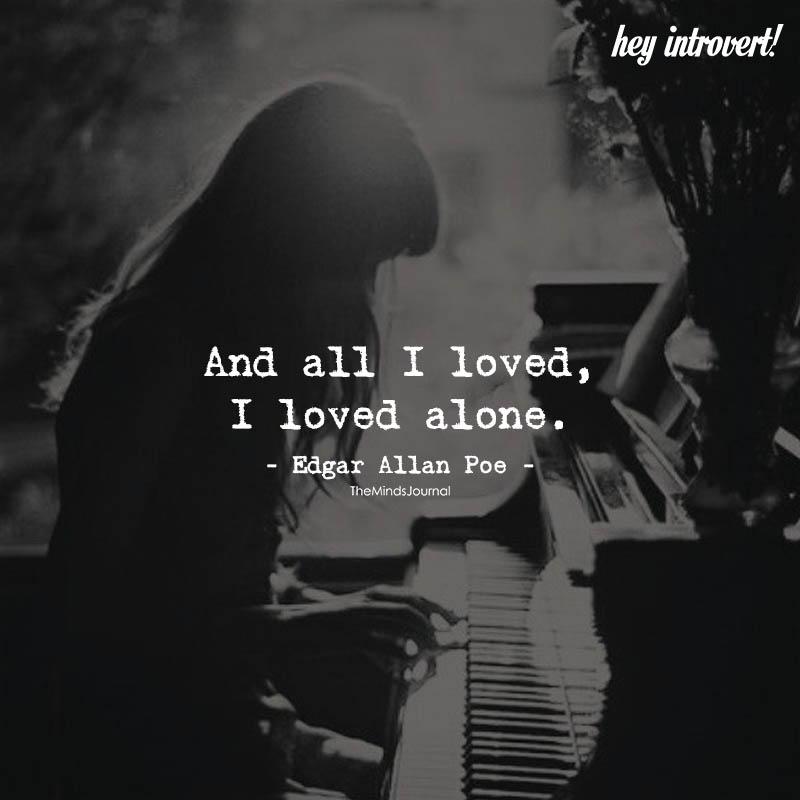 I Loved Alone