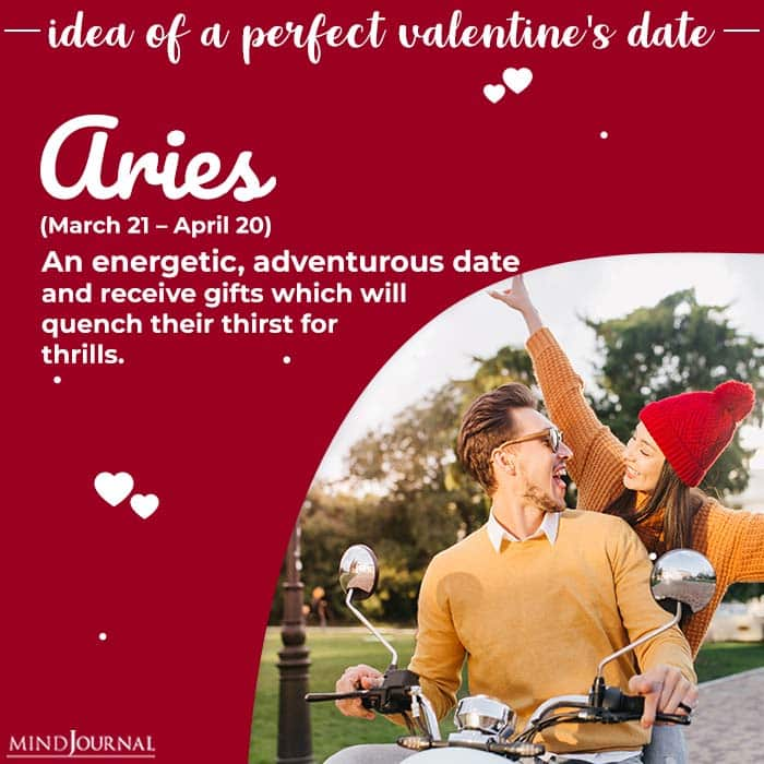 Ideal Valentines Day Date aries