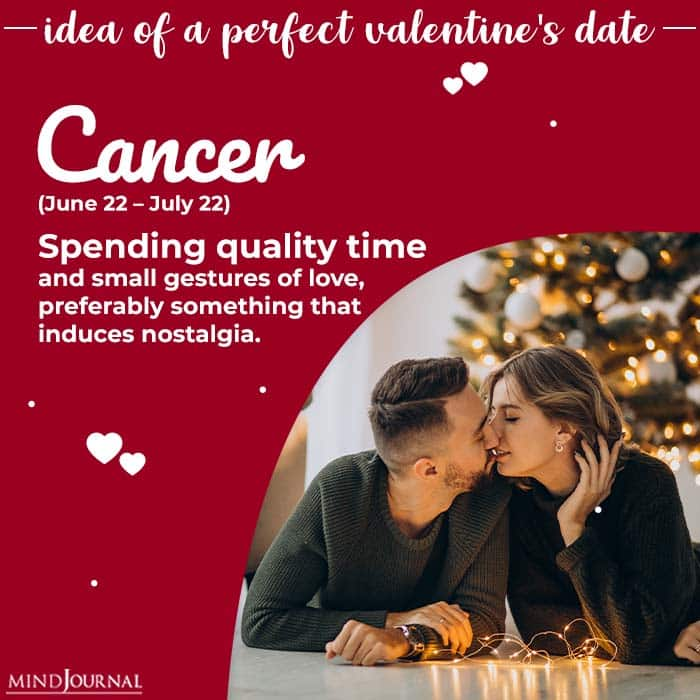 Ideal Valentines Day Date cancer