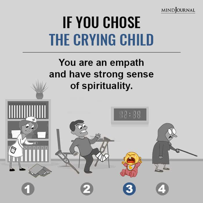 If You Chose The Crying Child