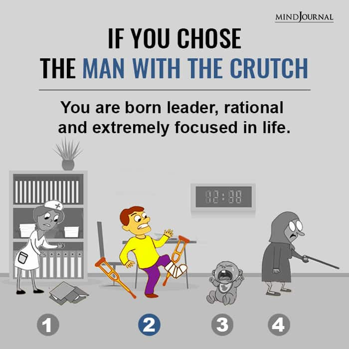 If You Chose The Man with the Crutch