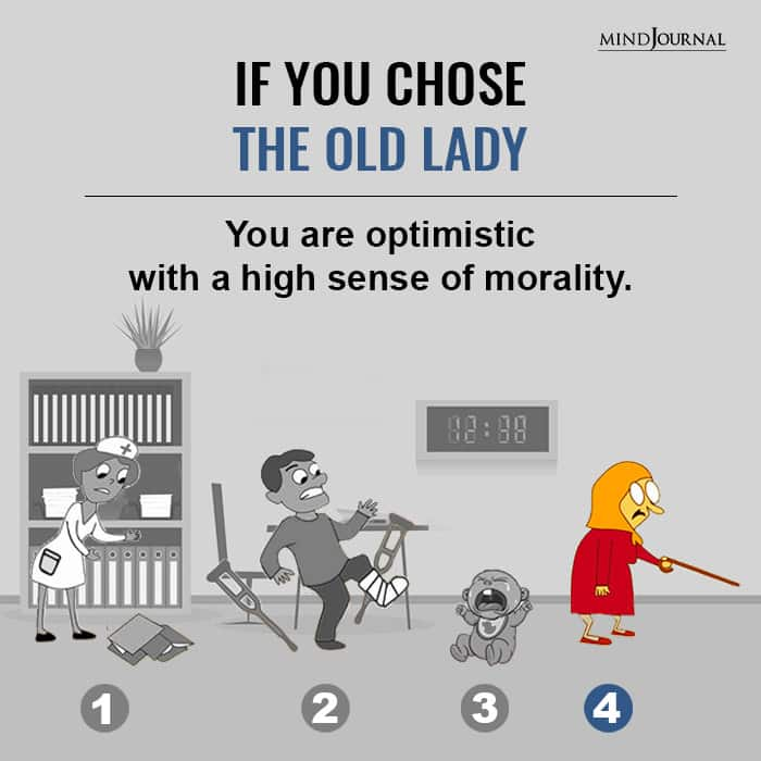 If You Chose The Old Lady