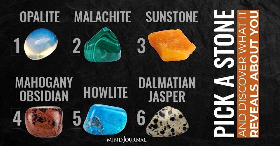 Pick Stone Discover Reveals About You