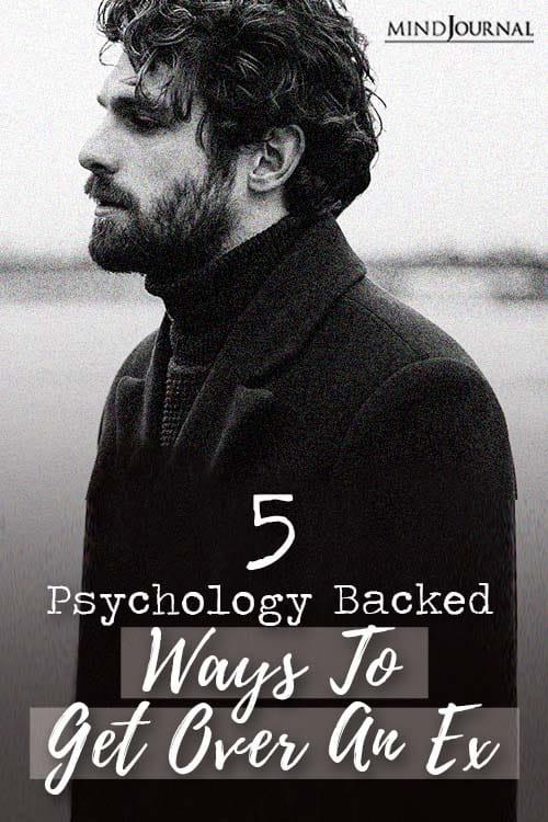 Psychology Ways Get Over Ex Pin