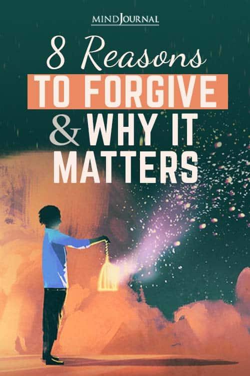 Reasons Forgive Why Matters pin
