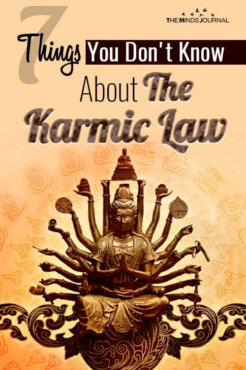 Things About The Karmic Law pin