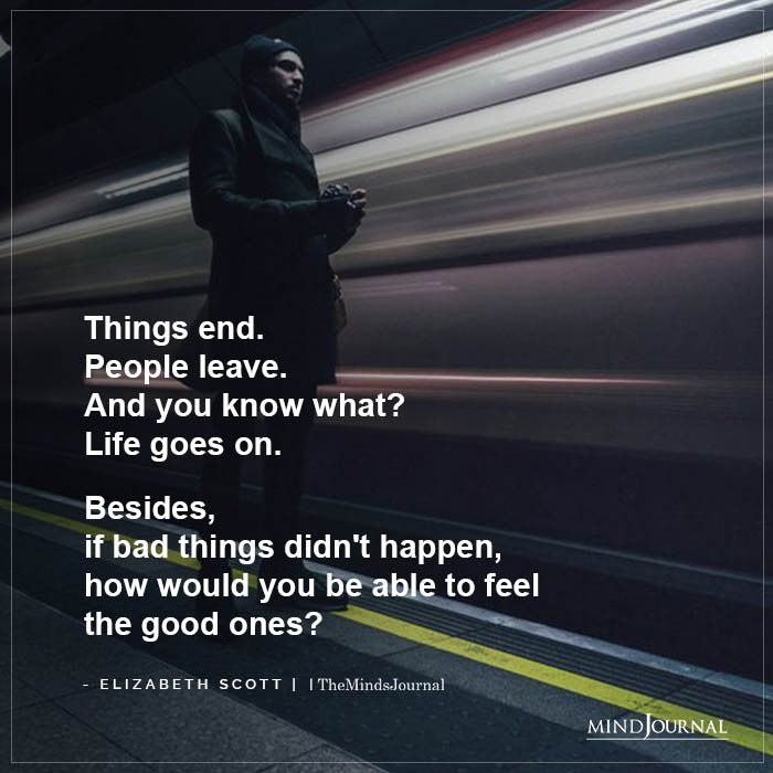 Things End People Change