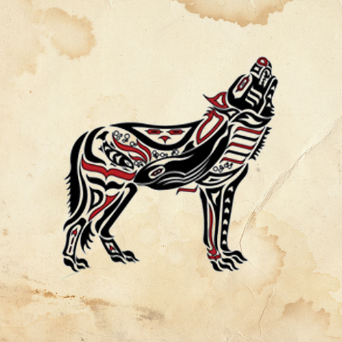 The Wolf Native American Totem