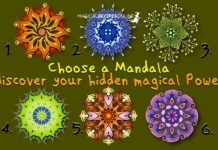 Choose A Mandala And Discover Your Hidden Magical Power