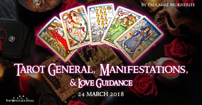 Tarot General, Manifestation And Love Guidance for today (24 March 2018)