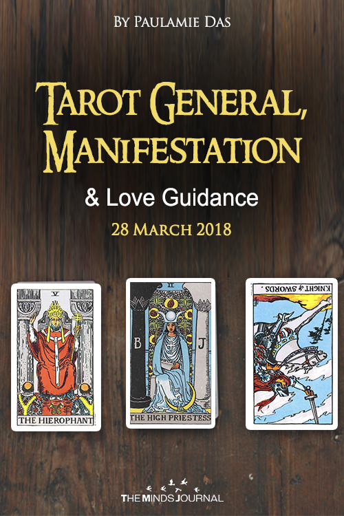 Tarot General, Manifestation And Love Guidance For Today (28 March 2018)