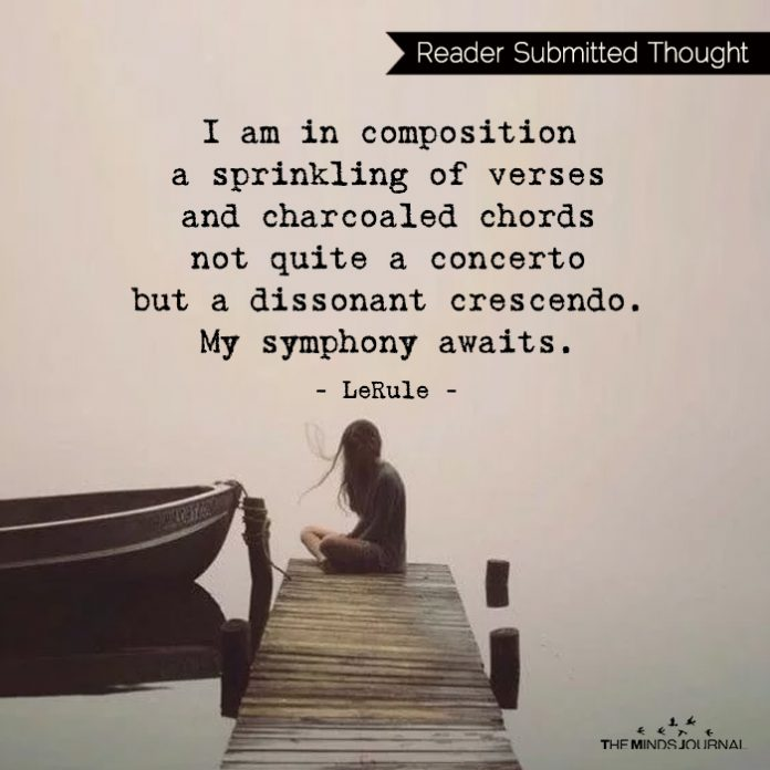 I am in composition