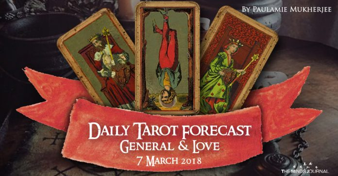 Daily Tarot Forecast General And Love - 7 March 2018