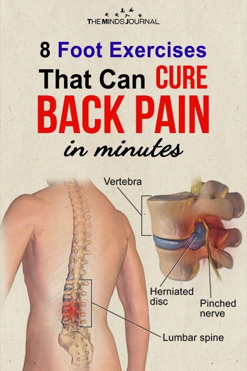 8 Foot Exercises That Can Cure Back Pain in minutes