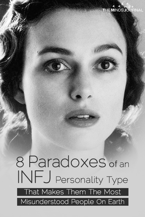 8 Paradoxes of An INFJ Personality Type That Makes Them The Most Misunderstood People On Earth