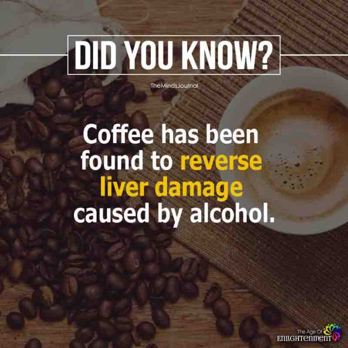 Coffee Has been Found To Reverse Liver Damage