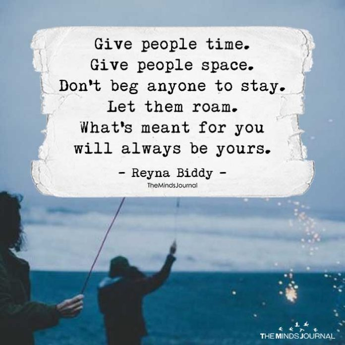Give People Time