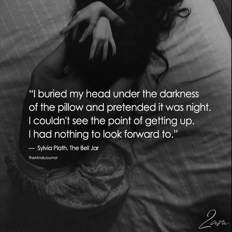 I Buried My Head Under The Darkness Of Pillow