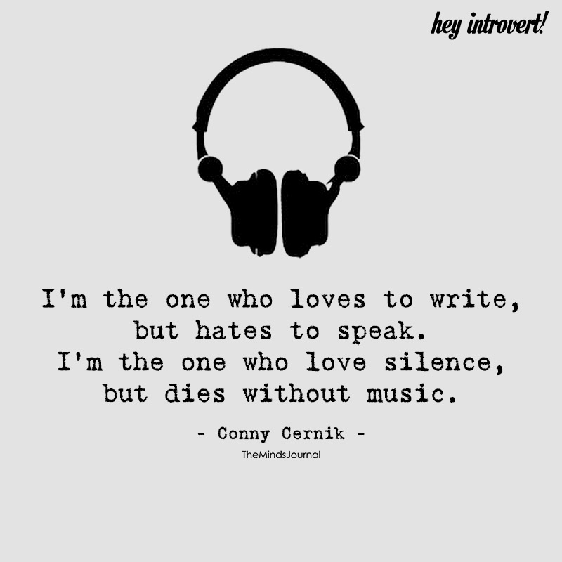 I'm The One Who Loves To Write