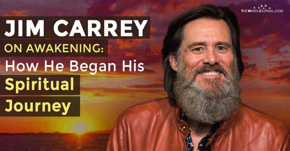 Jim Carrey On Awakening