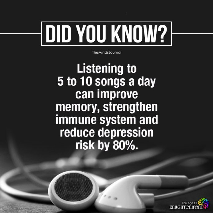relaxing songs can improve memory, strengthen immune system