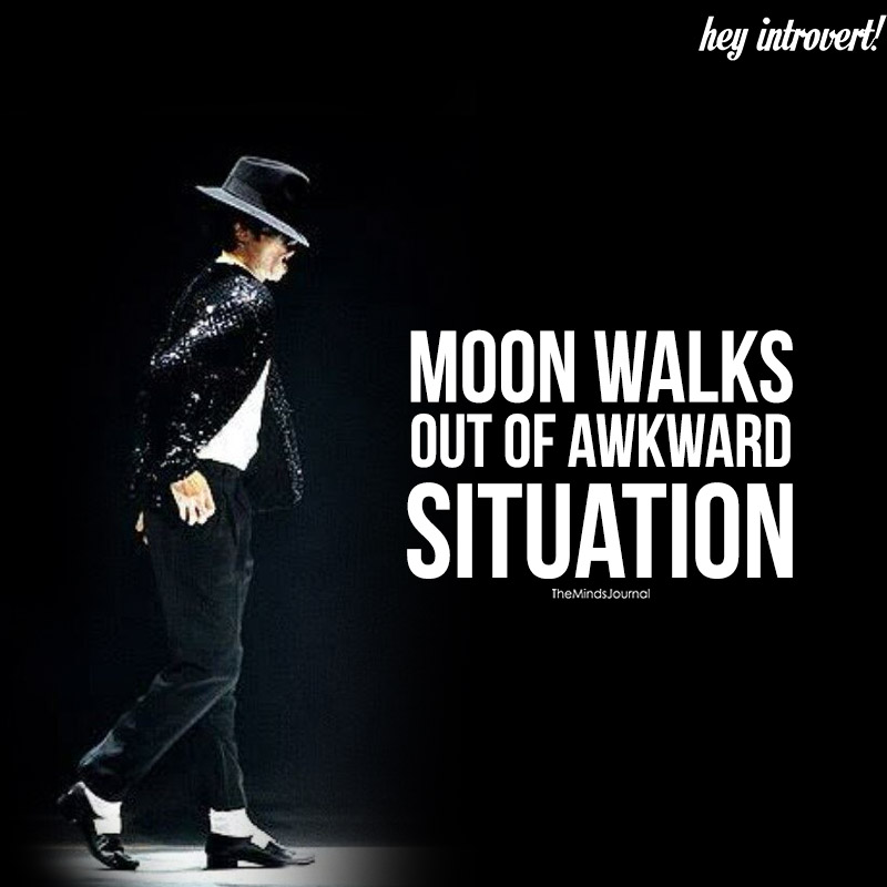 Moon Walks Out Of Awkward Situation