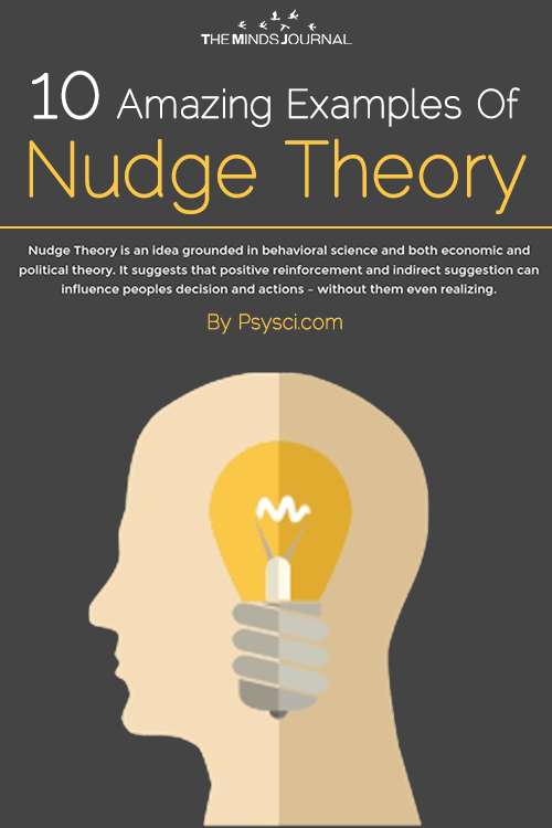 Nudge theory infographic