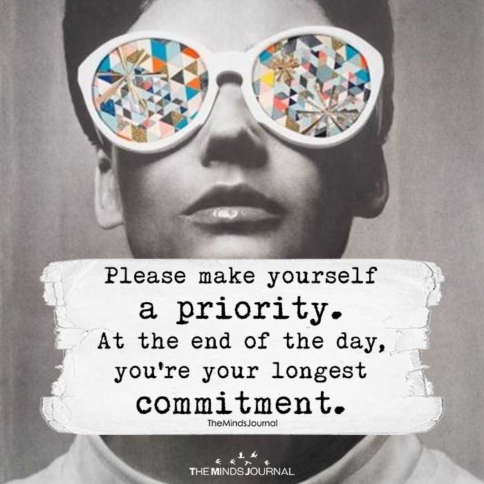 Please Make Yourself A Priority