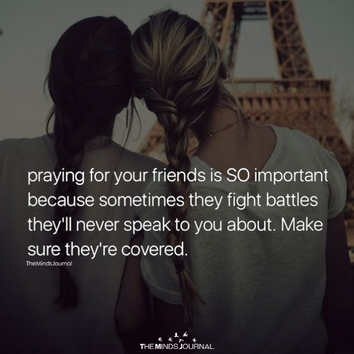 Praying For Your Friends Is SO Important
