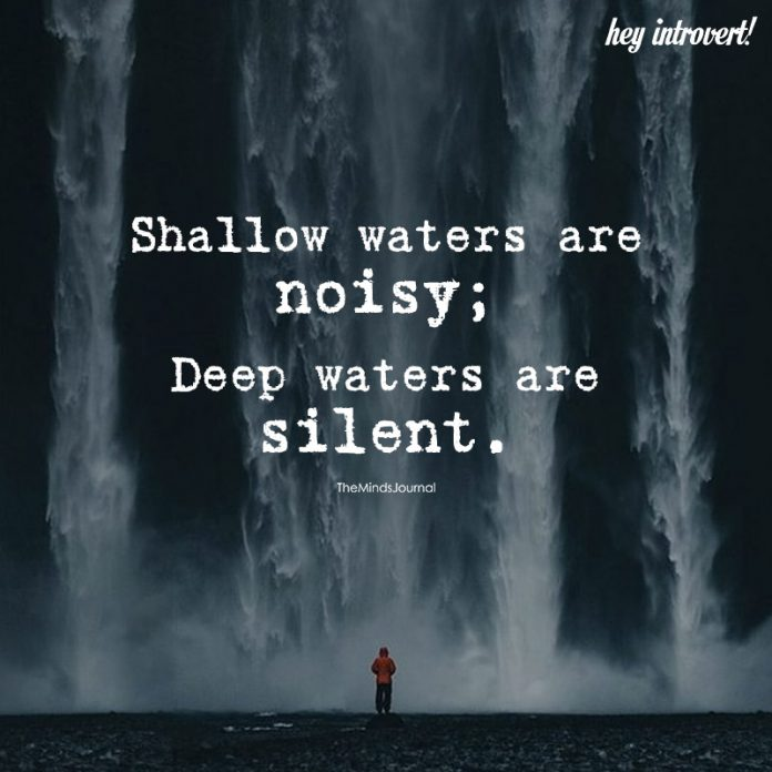 Shallow Waters Are Noisy
