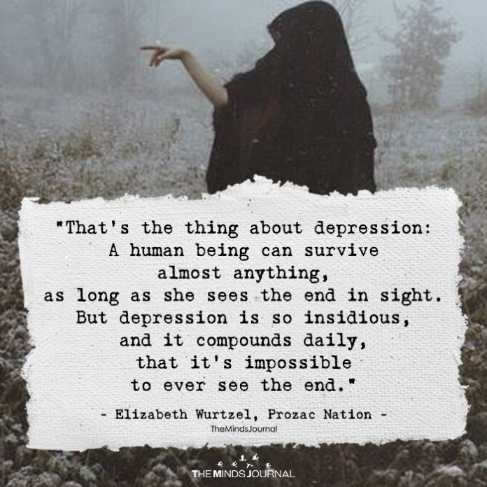That's The Thing About Depression