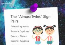 The Almost Twins Sign Pairs