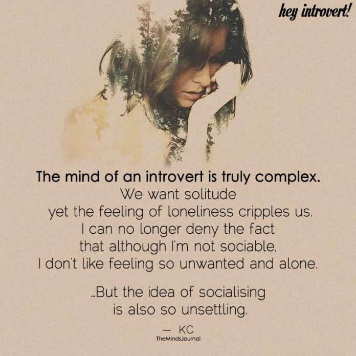 The Mind Of An Introvert Is Truly Complex