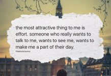 The Most Attractive Thing To Me