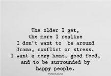 The Older I Get The More I Realize