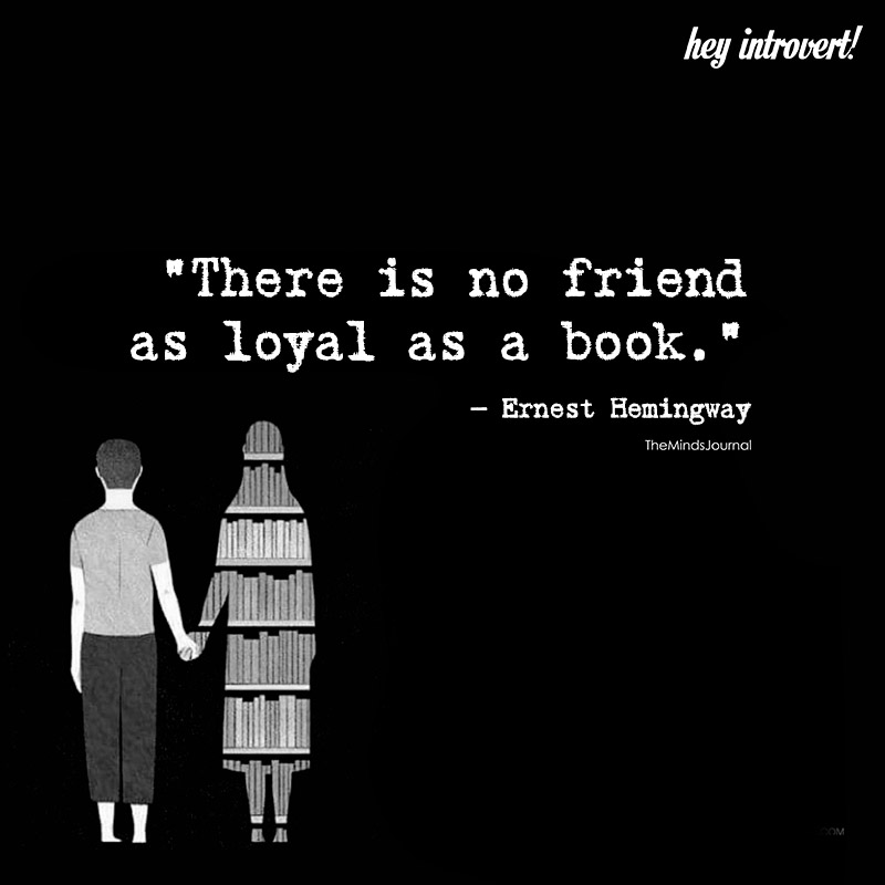 There Is No Friend As Loyal As Book