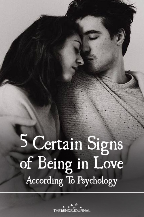 5 Certain Signs of Being in Love (according to psychology)