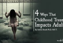 4 Ways That Childhood Trauma Impacts Adults